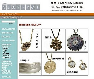 Clay-Pot.com, Clay Pot Jewelry