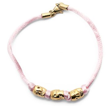 Jade Jagger Satin Skull Beaded Bracelet: Love It or Hate It?