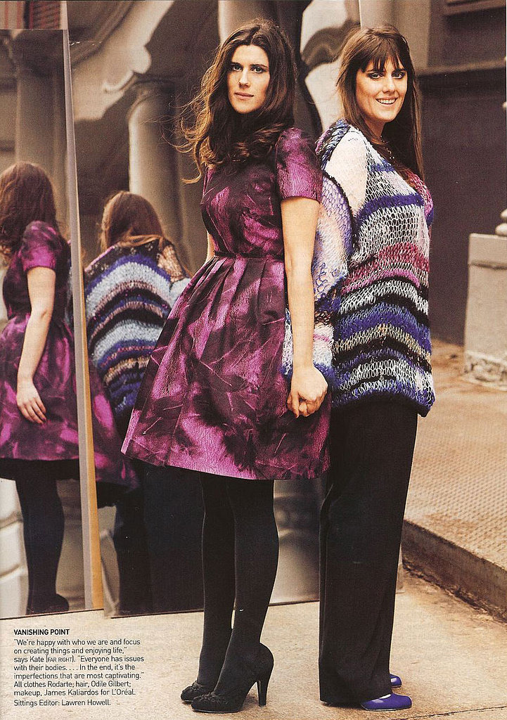 Laura and Kate Mulleavy of Rodarte in Vogue April 2008