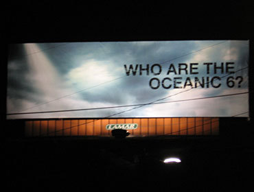 LOST Billboards Popping Up.. Oceanic 6?
