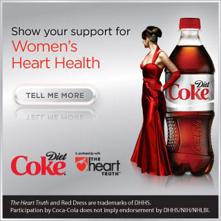 Join Diet Coke in Support of Women's Heart Health and Win a Dress Worn by Heidi Klum