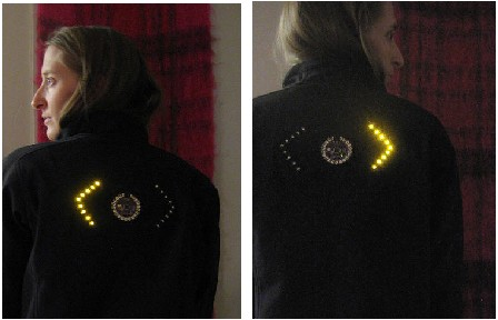 Turn Signal Bicycling Jacket: Cool or Not?