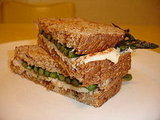 Truffled Grilled Cheese With Asparagus and Chicken