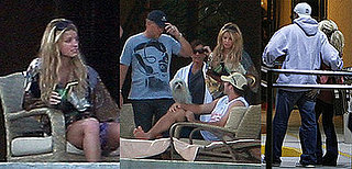 Jessica Simpson and Tony Romo in Los Cabos, Mexico