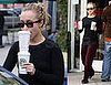 Hayden Panettiere Gets Coffee