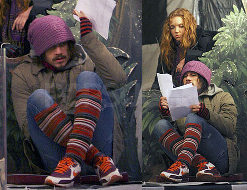 Heath Ledger Filming The Imaginarium of Doctor Parnassus
