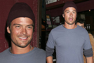 Josh Duhamel Laughs It Up