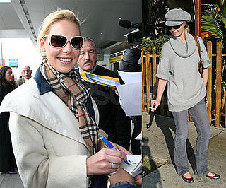Katherine Heigl Flies from New York to LA