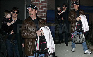 Tom Cruise and Jerry Seinfeld Out in NYC While Scientology Video Is Still Talked About