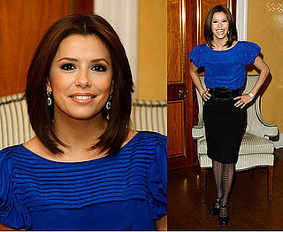 Eva Longoria at a Photocall For Over Her Dead Body in London