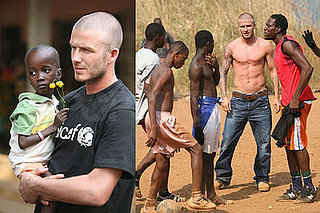 David Beckham in West Africa For UNICEF