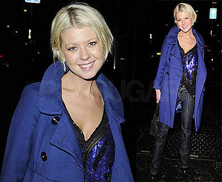 Tara Reid Leaves Groucho Nightclub in London