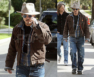 Johnny Depp Is Just Enjoying Being an Oscar Nominee