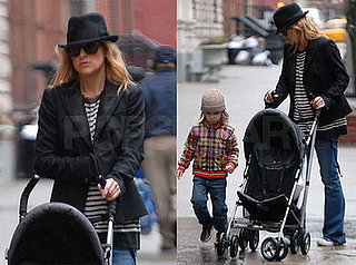 Kate Hudson and Ryder Robinson Out in NYC on Feb. 6 2008