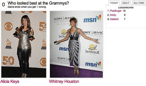 Check Out Our New Grammy Faceoff Game!
