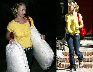 Katherine Heigl and her Mother in LA on February 27, 2008