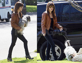 Rachel Bilson with Thurman Murman in LA