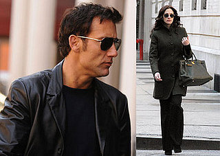 Clive Owen and Julia Roberts in NYC for Duplicity