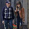Rachel Bilson and Her Grandfather in LA