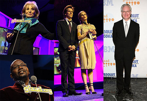 Stars Put on Their GLAAD Faces