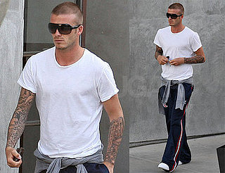 David Beckham: Delicious in LA, Delicious in a Shirt