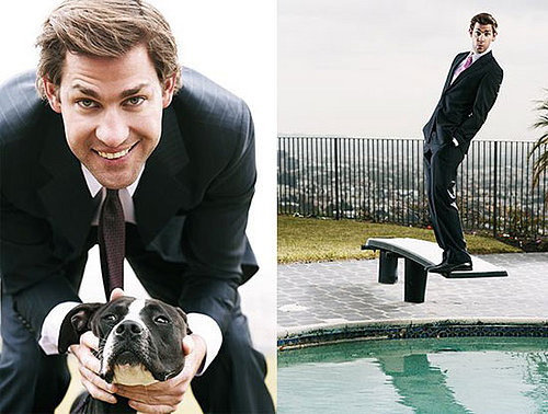 John Krasinski In Parade Magazine