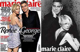 George Clooney and Renée Zellweger For Marie Claire