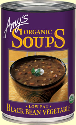 Review of Amy's Black Bean Vegetable Soup