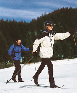 Cross Country Skiing With a Friend