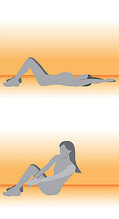 Ab Exercise: Ab Crossover