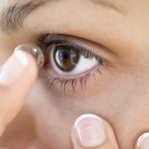 Health Tip for Contact Lens Wearers