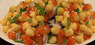 Healthy Recipe: Chickpea and Tomato Salad