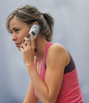 Speak Up: Cell Phones at the Gym?