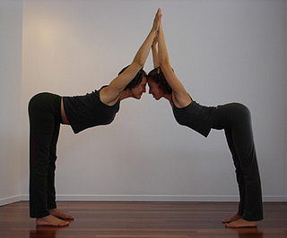 Partner Yoga Pose: Triple Hill