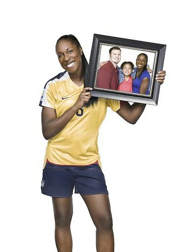"""Soccer Mom"" Redefined: Olympic Hopeful Tina Ellertson"