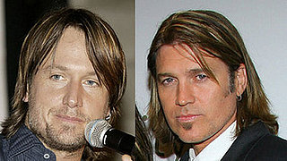 Keith Urban and Billy Ray Cyrus Look Alike
