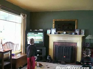 Kid Gets Mad Playing Wii