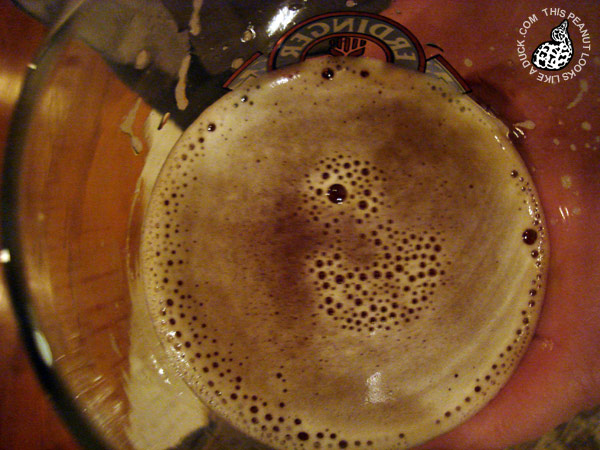 This Beer Foam Looks Like a Duck