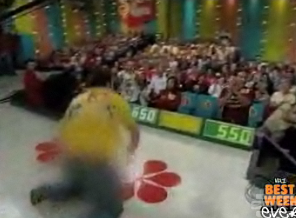 People Falling on The Price Is Right