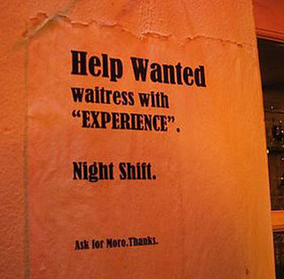 Funny Help Wanted Sign