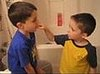 Four-Year-Old Pulls Out Big Brother's Tooth