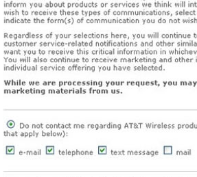 AT&T Collects Email Addresses For the Fun of It