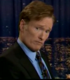 Conan Takes Charge of the Cameras