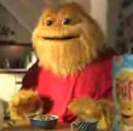Honey Monster in a Sugar Puffs Ad