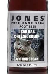 Jones Soda and LOL Cats Team Up to Create LOL Cats Soda