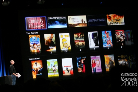 iTunes Movie Rentals, Cont'd