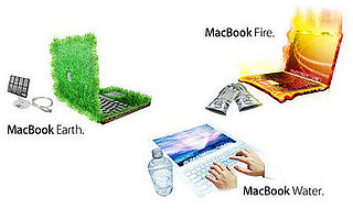 Daily Tech: Meet the MacBook Earth, Water, and Fire