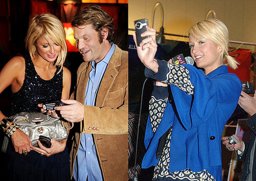 Paris Hilton Loves Cell Phones and Cameras