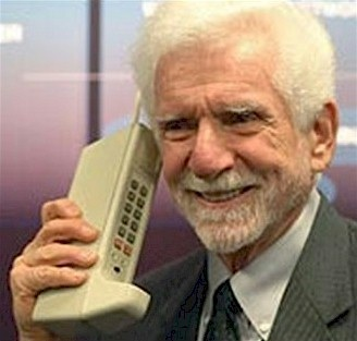 Giant Motorola Cell Phone