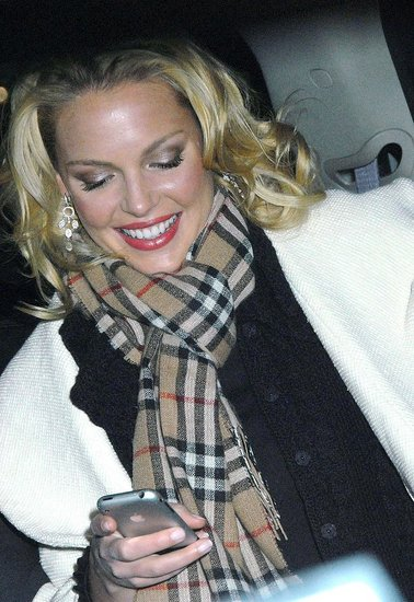 Katherine Heigl: iPhone!